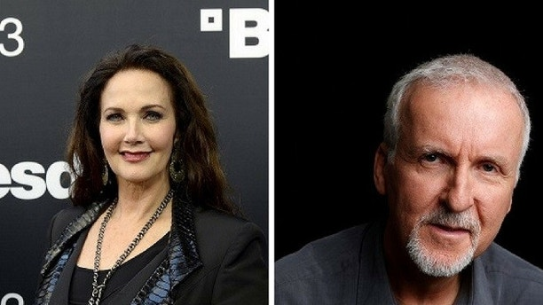 Lynda Carter calls out James Cameron over 'Wonder Woman'