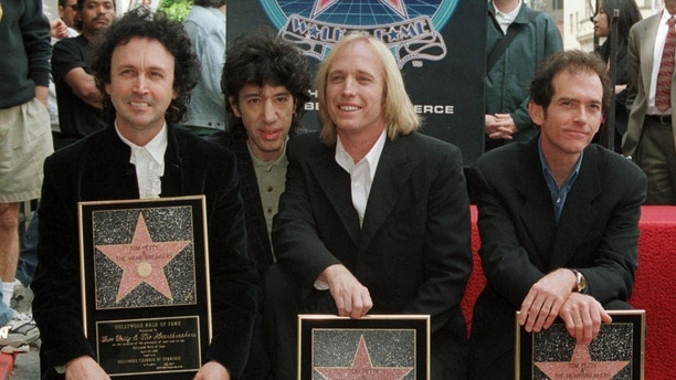 Veteran rockers Tom Petty and the Heartbreakers will be among the