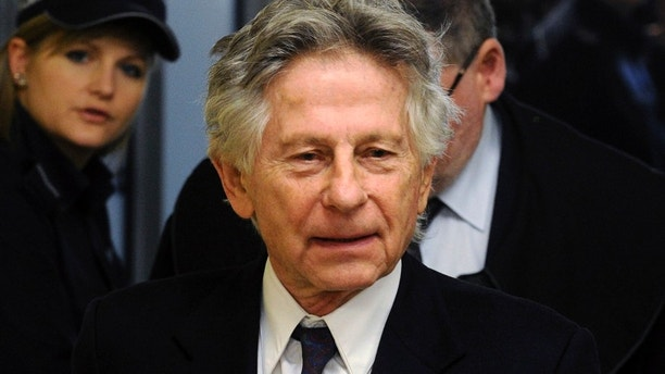 This Feb. 25, 2015 file photo shows filmmaker Roman Polanski during a break in a hearing concerning a U.S. request for his extradition over 1977 charges of sex with a minor, in Krakow, Poland. A Los Angeles judge on Monday, April 3, 2017 rejected a request by Polanski to end his 40-year-old case for unlawful sex with a minor without the director's presence in court, as well as other request that would draw the case to a close.
