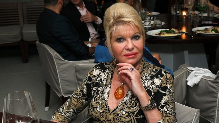 Ivana Trump: 'I am glad Melania is there and I am here'