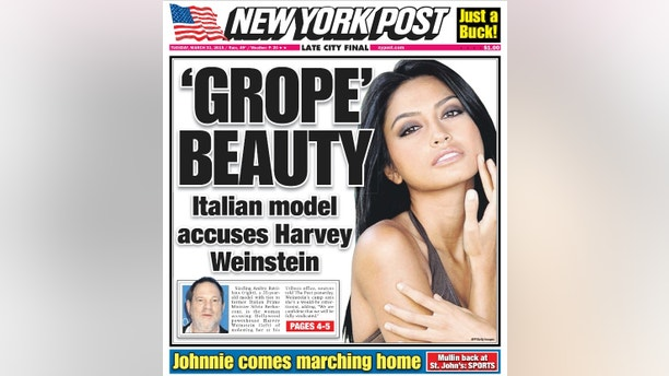 nyp grope beauty front page