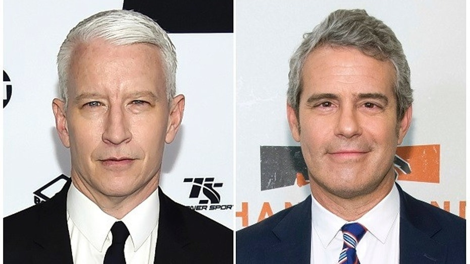 "Anderson Cooper, left, and Bravo TV's ""Watch What Happens Live"" host Andy Cohen will host CNN's New Year's Eve celebration together."