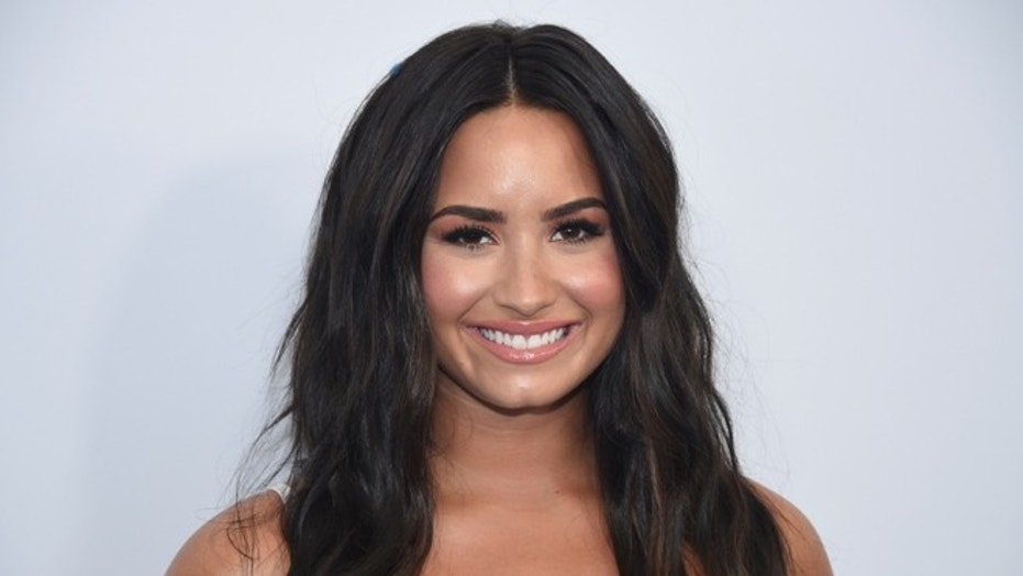 Demi Lovato attends the WE Day event in Los Angeles California U.S