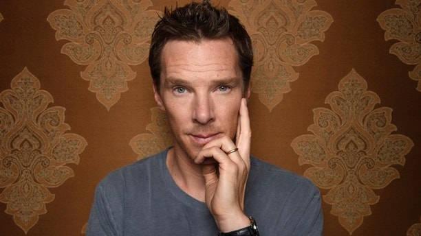 FILE - In this Oct. 19, 2016 photo, Benedict Cumberbatch poses for a photo in Beverly Hills, Calif. Geneology detectives have discovered that the British actor who portrays Sherlock Holmes in the PBS television series, is distantly related to the author who created the iconic character more than a century ago. (Photo by Chris Pizzello/Invision/AP)