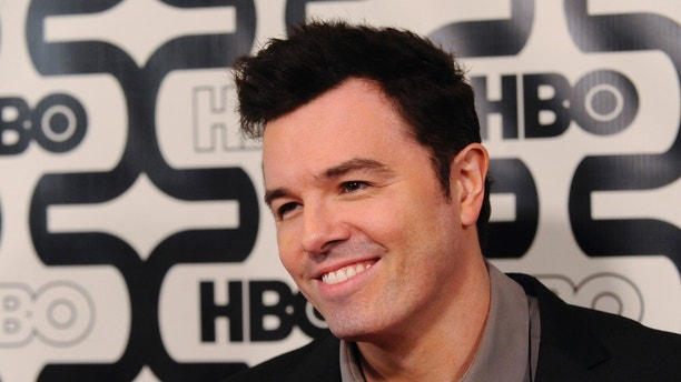 Writer and producer Seth MacFarlane arrives at the HBO after party after the 70th annual Golden Globe Awards in Beverly Hills, California January 13, 2013.