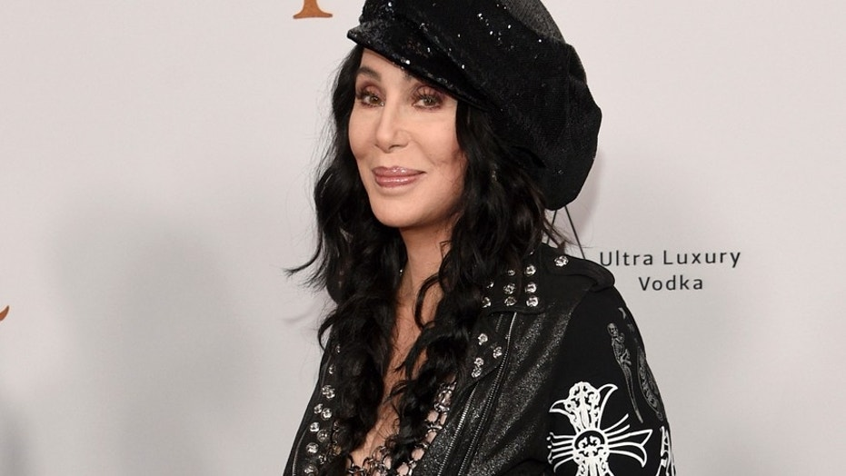 "In this April 12, 2017 file photo, Cher arrives at the premiere of ""The Promise"" in Los Angeles."
