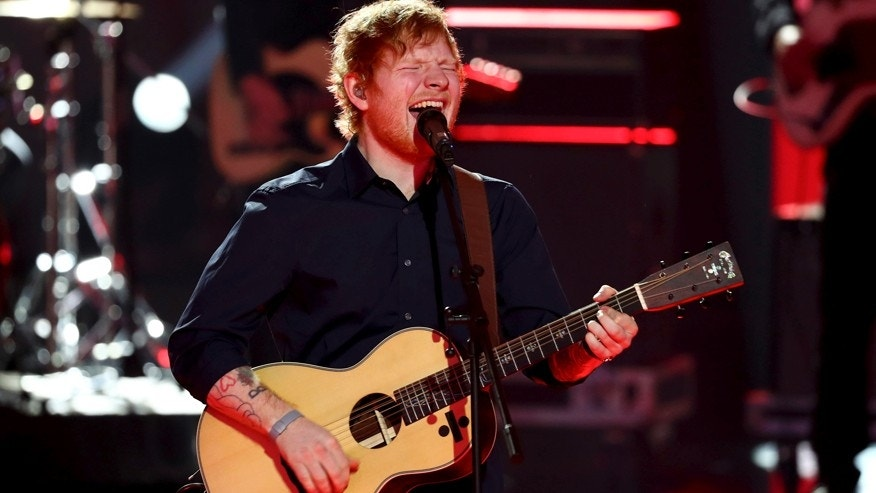 Ed Sheeran tells fans he had a 'bit of a bicycle accident'