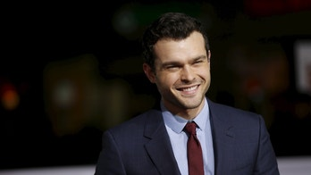 """Cast member Alden Ehrenreich poses at the premiere of """"Hail, Caesar!"""" in Los Angeles, California February 1, 2016. The movie opens in the U.S. on February 5.   REUTERS/Mario Anzuoni - RTX2512Z"""