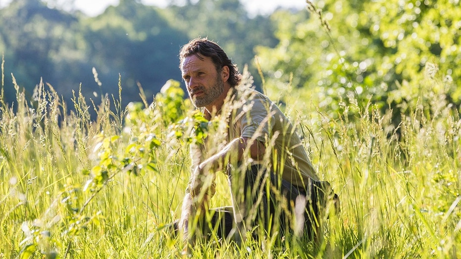 Andrew Lincoln as Rick Grimes - The Walking Dead _ Season 8, Episode 1 - Photo Credit: Jackson Lee Davis/AMC