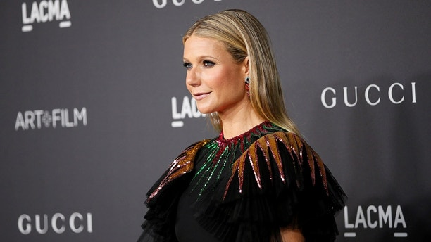 Actor Gwyneth Paltrow poses at the Los Angeles County Museum of Art (LACMA) Art+Film Gala in Los Angeles, October 29, 2016. REUTERS/Danny Moloshok - S1BEUJWQOSAC
