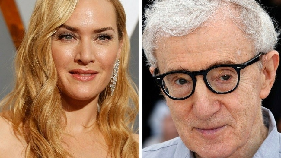 Kate Winslet sidestepped a question regarding Woody Allen's alleged sexual misconduct.