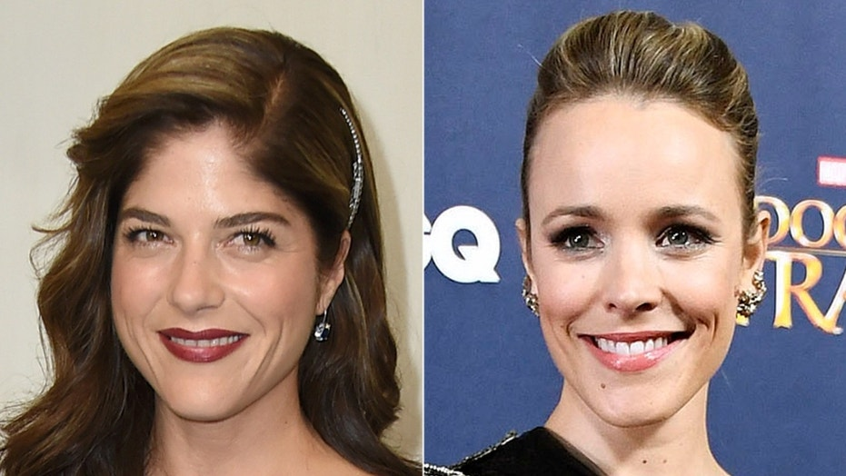 Actresses Selma Blair (left) and Rachel McAdams (right) detailed their stories of sexual harassment from director James Toback.