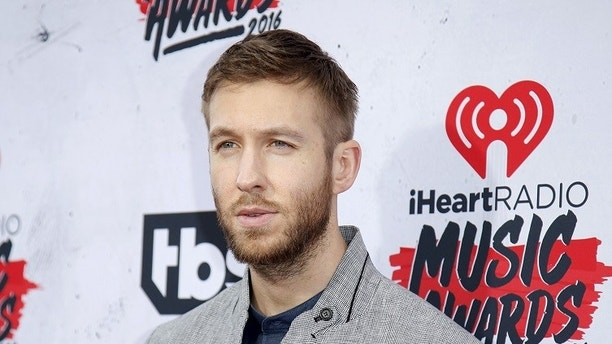 DJ Calvin Harris poses at the 2016 iHeartRadio Music Awards in Inglewood, California, April 3, 2016. REUTERS/Danny Moloshok - GF10000370494