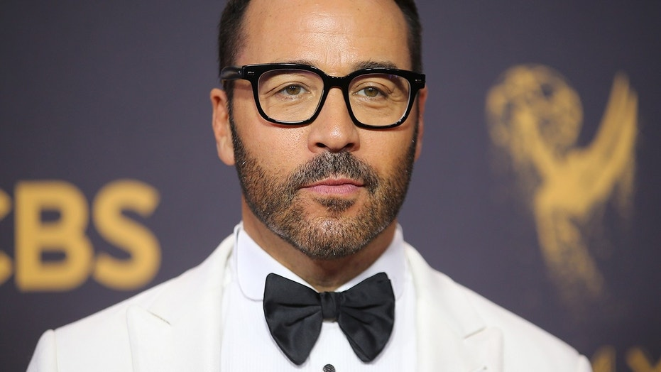 "Jeremy Piven, pictured here at the 69th Annual Primetime Emmy Awards, has been accused of grabbing an actress' breasts without permission on the set of ""Entourage."""