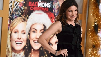 """Kathryn Hahn arrives at the Los Angeles premiere of """"A Bad Moms Christmas"""" at the Regency Village Theater on Monday, Oct. 30, 2017. (Photo by Jordan Strauss/Invision/AP)"""