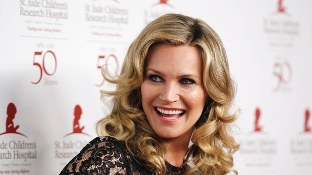 Actress Natasha Henstridge poses at the benefit gala for the 50th anniversary of St. Jude Children's Research Hospital in Beverly Hills, California, January 7, 2012. REUTERS/Danny Moloshok (UNITED STATES - Tags: ENTERTAINMENT) - GM1E81815DQ02