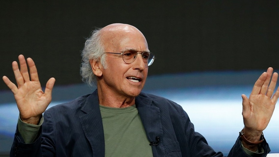 "Larry David joked about picking up women at concentration camps during his ""Saturday Night Live"" opening monologue."
