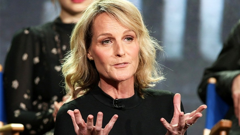 Actress Helen Hunt was a keynote speaker for Egypt's World Youth Forum, which has received backlash.