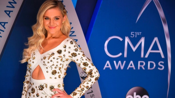 51st Country Music Association Awards – Arrivals - Nashville, Tennessee, U.S., 08/11/2017 - Singer Kelsea Ballerini. REUTERS/Harrison McClary - HP1EDB81T3O63