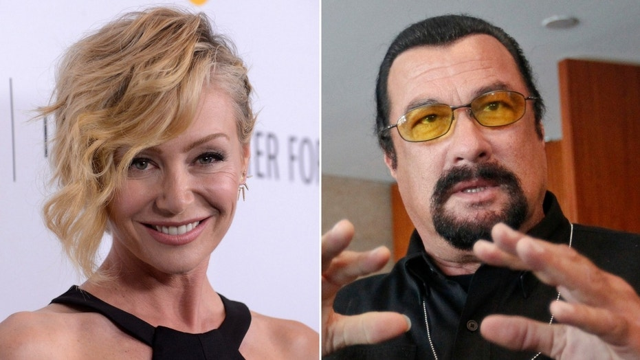 "Portia de Rossi said Steven Seagal ""unzipped his leather pants"" during an office audition."