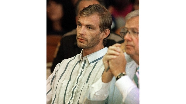 Serial killer Jeffrey Dahmer makes his initial court appearance in