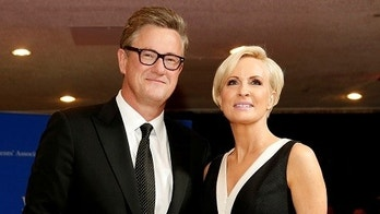 FILE PHOTO: MSNBC's Joe Scarborough and Mika Brzezinski arrive for the annual White House Correspondents' Association dinner in Washington, U.S. on April 25, 2015. REUTERS/Jonathan Ernst/File Photo - RC173125CB70