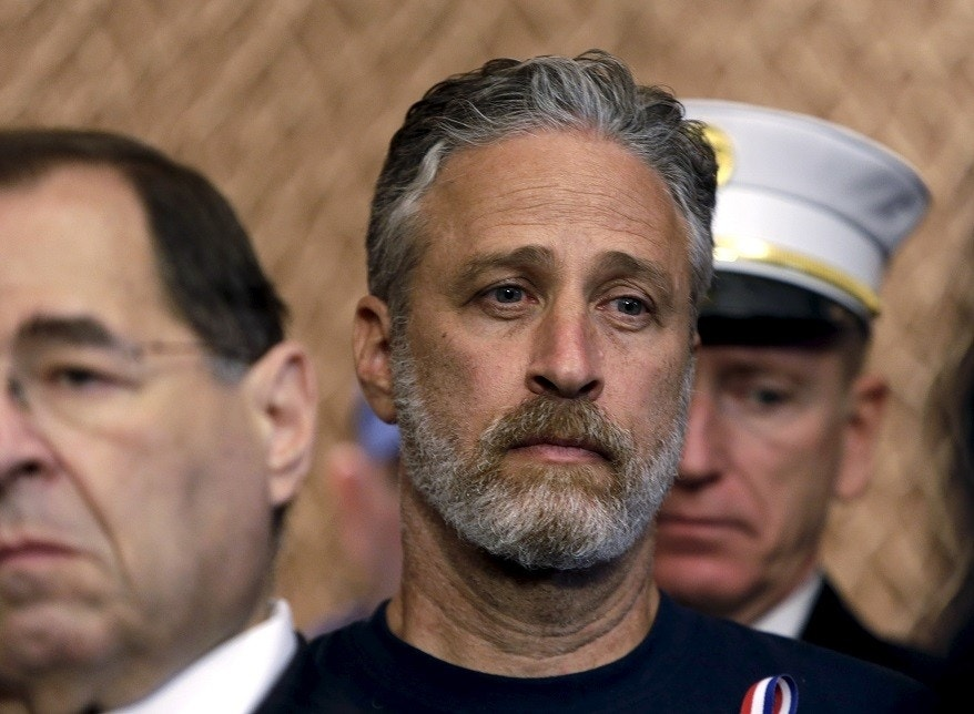 Jon Stewart addresses Louis C.K.'s controversy, hints at misconduct at NBC
