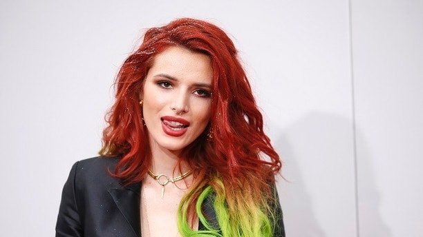 Actress Bella Thorne arrives at the 2016 American Music Awards in Los Angeles California U.S