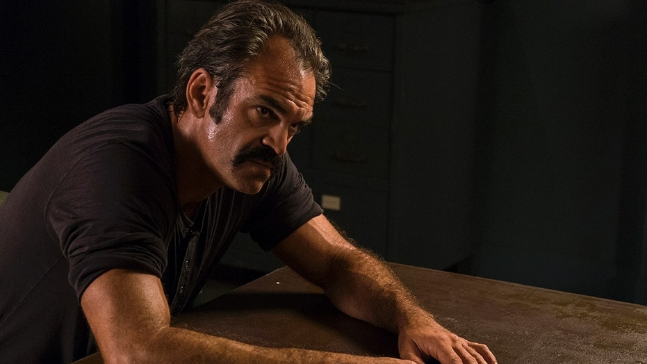 "Steven Ogg as Simon in ""The Walking Dead,"" Season 8, Episode 5."