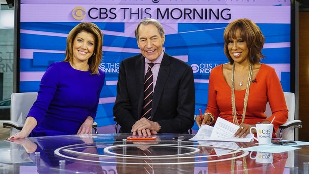 "CBS ""This Morning"" co-Hosts Norah O'Donnell, Charlie Rose, and Gayle King on December 7th, 2016."