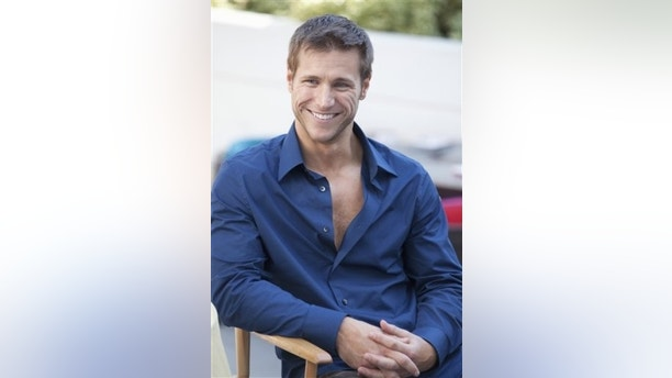 "In this undated publicity image released by ABC, bachelor Jake Pavelka,is shown during the filming of the romance reality series, ""The Bachelor"" . (AP Photo/ABC, Greg Zabilski)"