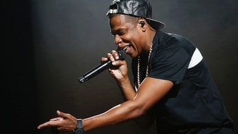 American rapper Jay-Z performs at Bercy stadium in Paris, October 17, 2013.