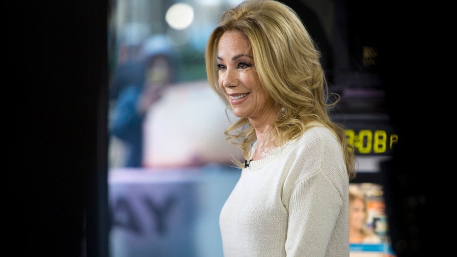 "Kathie Lee Gifford is pictured on the ""Today"" show on Nov. 15, 2017."