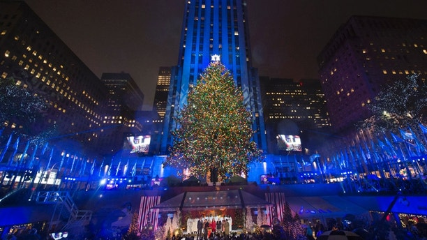 CHRISTMAS IN ROCKEFELLER CENTER -- Pictured  Christmas in Rockefeller Center  Key Art & Matt Lauer scrubbed from Rockefeller Christmas tree lighting amid ... azcodes.com