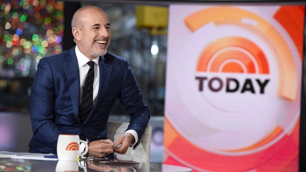 "Matt Lauer on NBC's ""Today"" on Friday, January 6, 2017."