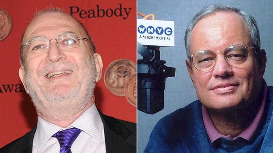 WNYC host's Leonard Lopate (left) and Johnathan Schwartz have been put on leave.