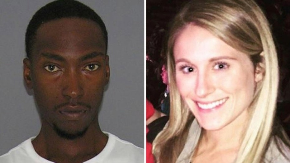 Lavoris Hightower (left) turned himself in to authorities for shooting Ellie Richardson (right) early Thanksgiving morning.