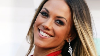 Actress Jana Kramer arrives at the 51st Academy of Country Music Awards in Las Vegas, Nevada April 3, 2016.  REUTERS/Steve Marcus - TB3EC431RN96J