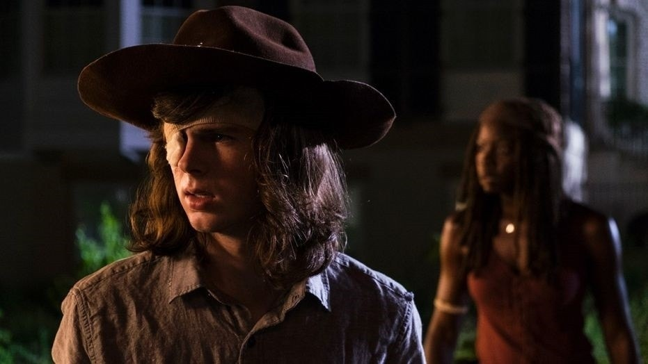 "Chandler Riggs' father, William, blasted AMC for writing his son out of ""The Walking Dead."""