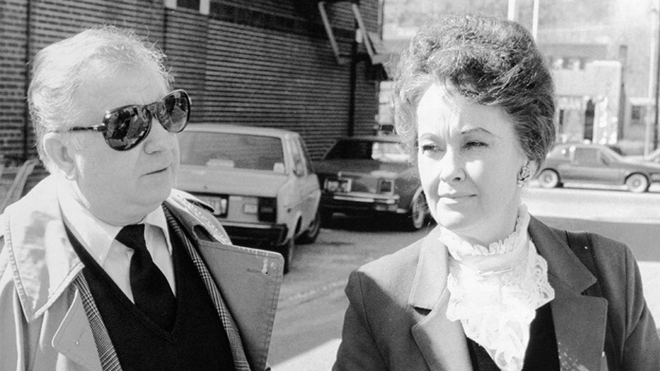 Ed and Lorraine Warren arrive at Danbury Superior Court, March 19, 1981. Lorraine's attorney claims the family had no knowledge of the allegations.