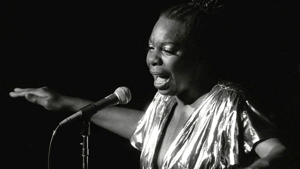 In this June 27, 1985, file photo, Nina Simone performs at Avery Fisher Hall in New York. Simone will be inducted into the Rock and Roll Hall of Fame on April 14, 2018 in Cleveland, Ohio. The jazzy and soulful Simone, who died in 2003, was an activist in the Civil Rights Movement and influenced the likes of Alicia Keys and Aretha Franklin.