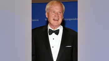 Chris Matthews of MSNBC arrives on the red carpet at the White House Correspondents' Association dinner in Washington, U.S. April 29, 2017. REUTERS/Jonathan Ernst - RC1639EA03D0