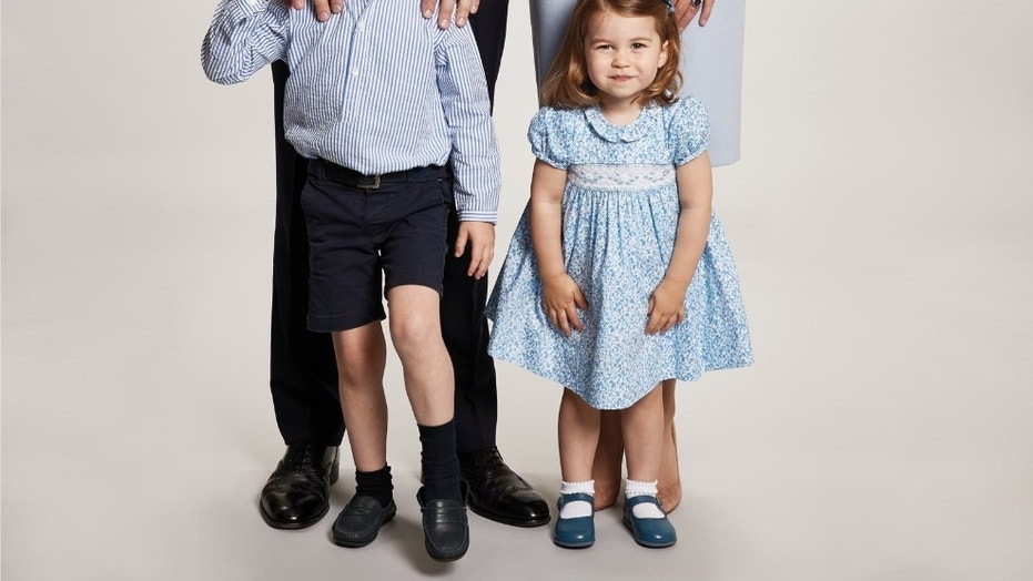 Prince William along with Princess Kate, Prince George and Princess Charlotte