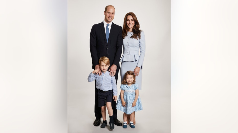 Prince William and Duchess Kate released their family photo for the 2017 Royal Family Christmas card.