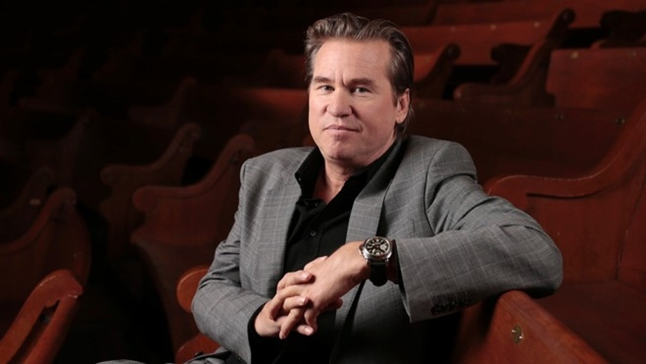 "FILE - In this Jan. 9, 2014 file photo, Val Kilmer poses for a portrait in Nashville, Tenn. Kilmer wrote on Reddit April 26, 2017, that he's had ""a healing of cancer."" (AP Photo/Mark Humphrey, File)"