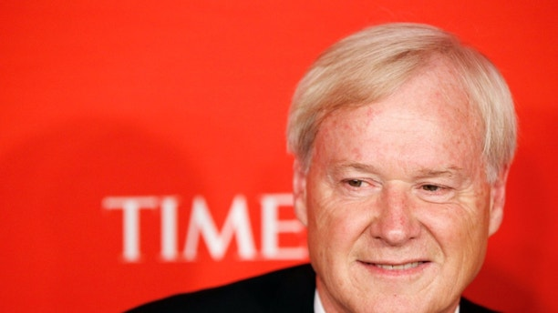 FILE: April 26, 2011: NBC host Chris Matthews at the 2011 Time 100 Gala ceremony in New York.