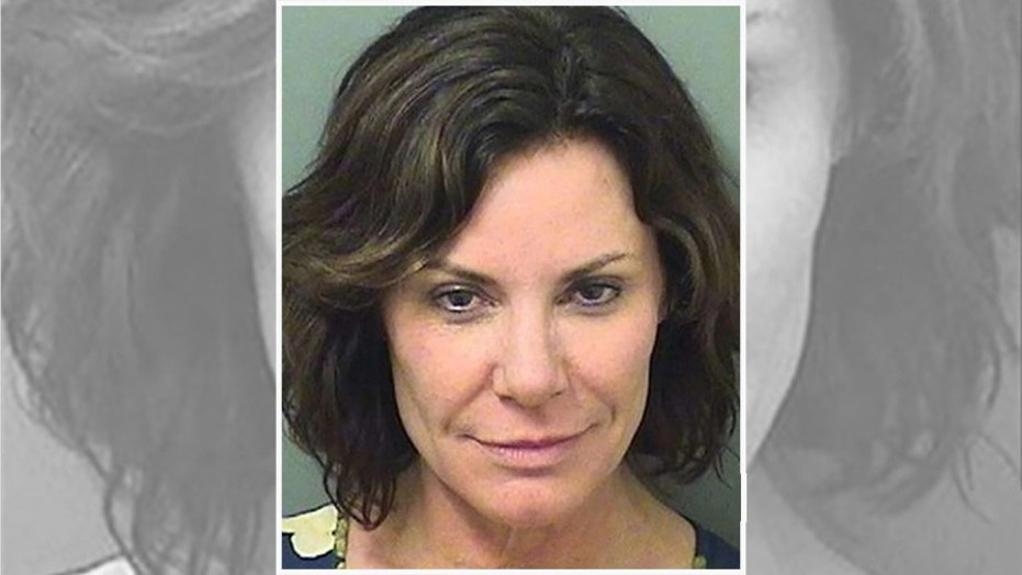 Luann de Lesseps, 52, was arrested early Sunday.