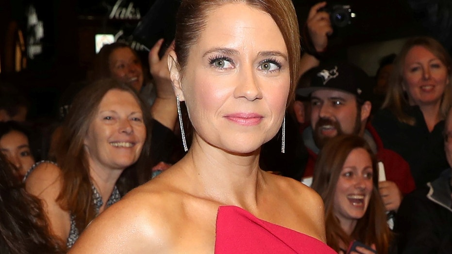 "Actor Jenna Fischer arrives at the premiere of the film ""Brad's Status"" at Toronto International Film Festival (TIFF) in Toronto, September 9, 2017."