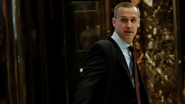 Corey Lewandowski arrives at Trump Tower where U.S. President-elect Donald Trump lives in New York, U.S., November 28, 2016.   REUTERS/Mike Segar - RC1ED8971550