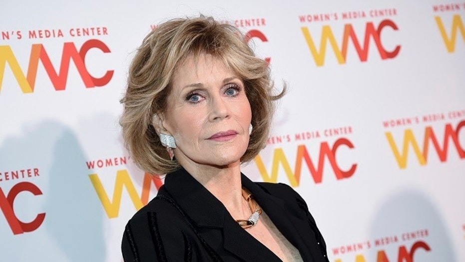 Jane Fonda attends The Women's Media Center 2017 Women's Media Awards at Capitale on Thursday, Oct. 26, 2017, in New York.